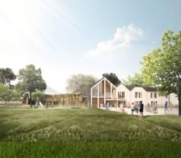 ehpad de louvie juzon : approche local et respectueuse de l'architecture environnante