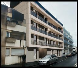 Rose Almeida - immeuble modulaire bois à Bordeaux